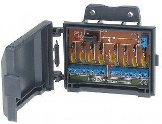 Rozgałęźnik zasilania - 8 kamer